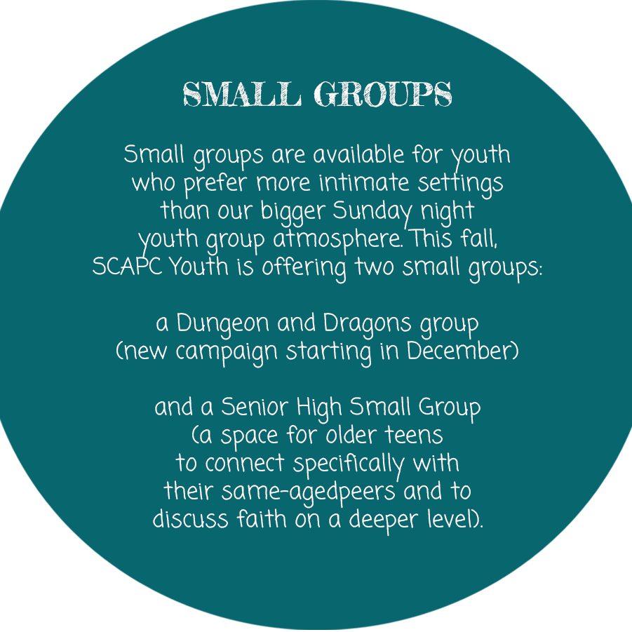 circle-small groups